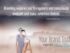 Brand Challenge Make Selective Choices