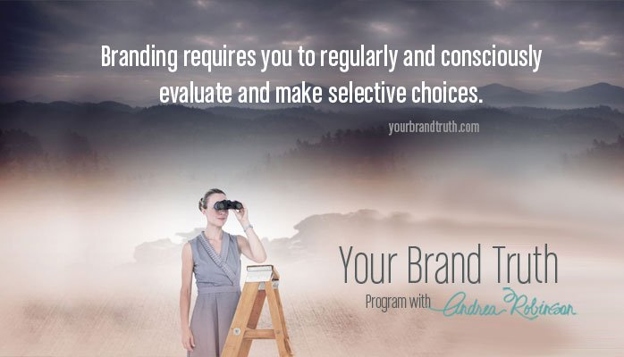 brand challenge make selective choices