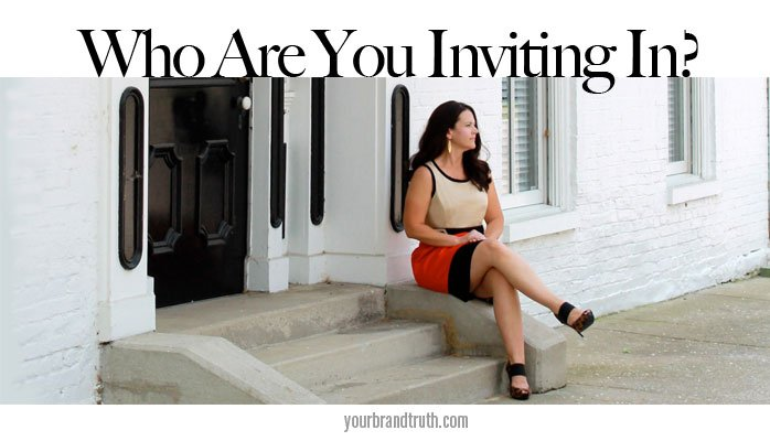 brand challenge who are you inviting in